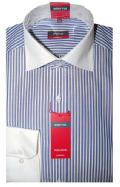 Eterna Shirt - 4320/19 X117 - Blue Stripe